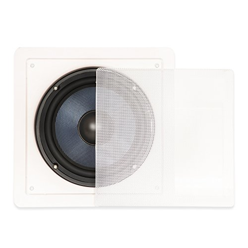 Blue Octave Home BDW8 In-Wall Subwoofer (White)