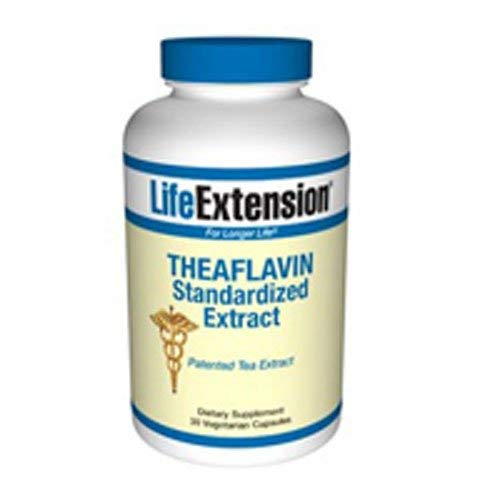 (Theaflavin Standardized Extract, 30 Veg Caps by Life Extension (Pack of 6))