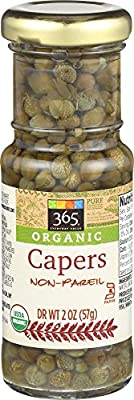365 Everyday Value, Organic Capers Non-Pareil, 2 Ounce