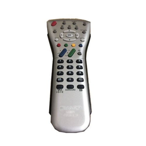 EASY Replacement Remote Control for SHARP LC-20B6U-SM LC-20E1UL LC-20E1UM AQUOS LCD TV by EREMOTE