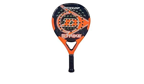 DUNLOP Strike Pala Padel de Tenis, Unisex Adulto, Naranja: Amazon.es: Deportes y aire libre