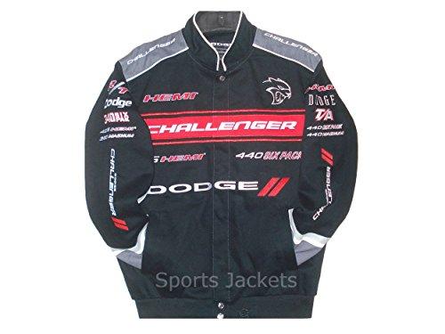 2017-dodge-challenger-collage-mens-black-twill-jacket-by-jh-design-l