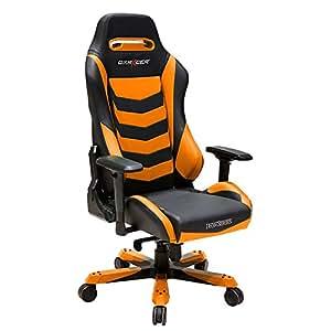 DXRacer Iron Series DOH/IS166/NO office chair X large PC gaming chair computer chair executive chair ergonomic rocker (BLACK/ORANGE)