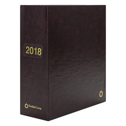 FranklinCovey Storage Binder, 5 1/2in. x 8 1/2in., Burgundy