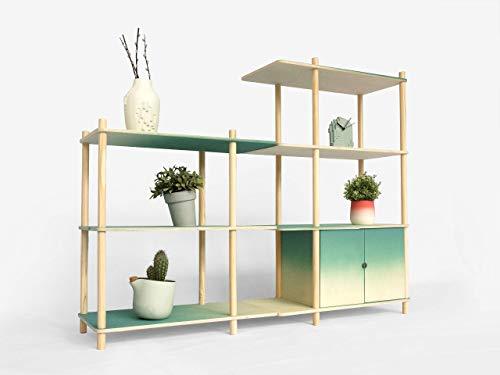 Gradient Modular Shelving Medium – drawers set tv furniture rack-ing hallway bed-room accessories interdesign unit-s of…