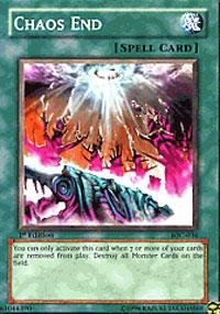 Yu-Gi-Oh! - Chaos End (IOC-036) - Invasion of Chaos - 1st Edition - -