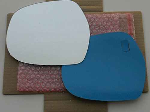 4runner Side Mirror View (New Replacement Mirror Glass with FULL SIZE ADHESIVE for 2003 - 2009 TOYOTA 4RUNNER Driver Side View Left LH)