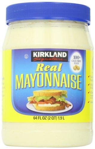 Kirkland Signature Real Mayonnaise, 64 Ounce by Kirkland Signature