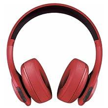 JBL - Everest 300 Wireless On-Ear Headphones - Red