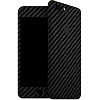 GADGETS WRAP FULL BODY BLACK Carbon Skin For IPHONE 7 PLUS (J-29)