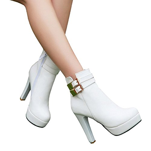 Susan (White Sexy Boots)