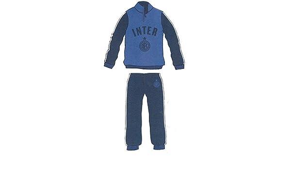 F.C. Internazionale Pijama Chándal Inter oficial Felpato niño años ...