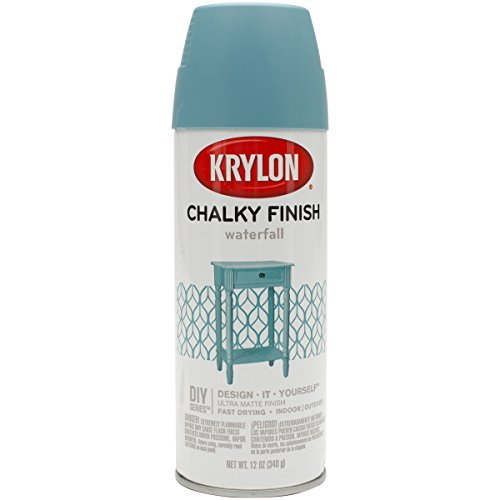 Krylon Chalky Finish Spray Paint, Waterfall
