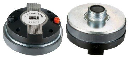 Pair (2pcs) 1000 Watts Titanium Compression Driver 1.75