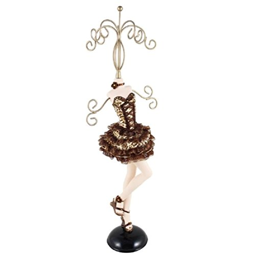 (Jacki Design PIN-UP CHEETAH MANNEQUIN Jewelry Holder Organizer LARGE cute gift)