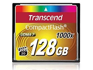Transcend CF1000x Ultimate 128GB Compact Flash Memory Card Compact Flash at amazon