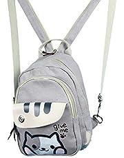 TAMMYFLYFLY Cute Anime Neko Atsume Multifunctional Shoulder Bag Knapsack Japanese Game Cat Backpack