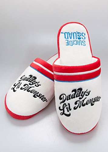 Suicide Squad Slippers Harley Quinn Daddy Size S Groovy Calzature