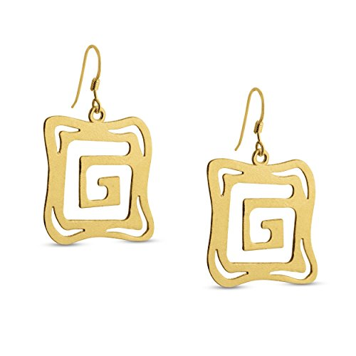 azaggi-gold-plated-sterling-silver-handcrafted-g-shaped-labyrith-square-shaped-hook-earrings