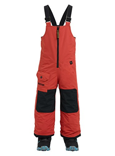 (Burton Boys Minishred Maven Bib Pant, Hot Sauce, 2T)