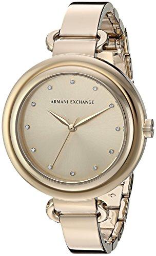 Armani Exchange Women's AX4240  Gold  Watch