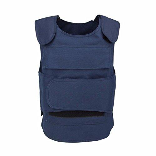 - Security Guard Vest Cs Field Genuine Tactical Vest Breathable Combat Training Vest Clothing Cut Proof Protecting Clothes For Men Women(Dark-Blue)