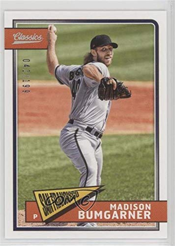 Madison Bumgarner #/199 (Baseball Card) 2018 Panini Chronicles - Classics - Timeless Tributes (Images Madison Madison Single)