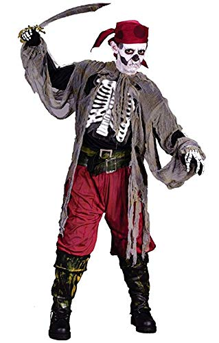 Boys Buccaneer Bones Pirate - Buccaneer Bones Child Medium