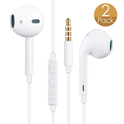Cordify Earphones Headphones Earbuds Headsets with Mic & Remote Control Compatible with iPhone 6/6s/6 Plus/6s...