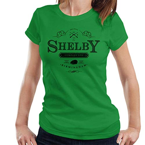 Logo T shirt Ltd Blinders 7 Kelly Shelby City Cloud Company Green Peaky Women's zgqXvX