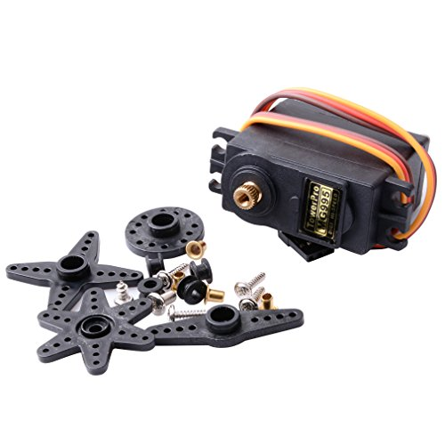 CTYRZCH MG995 Standard Mini Micro Servo Gear for RC Futaba HPI Savage XL Helicopter Plane Boat Car Model Tower Hobbies Airplanes
