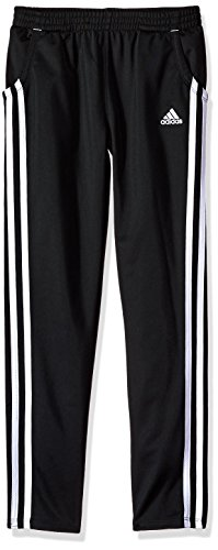 (adidas Girls' Big Warm Up Tricot Pant, ADI Black, S (7/8))