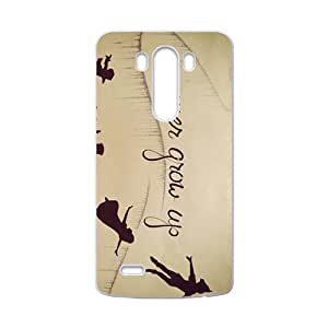 Never Grow Up Fashion Comstom Plastic case cover For LG G3