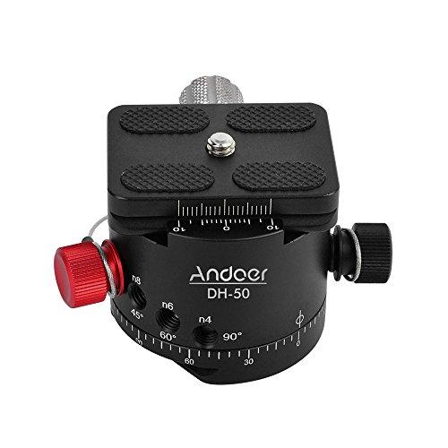 Andoer DH-50 Panoramic Ball Head Indexing Rotator Tripod Hea
