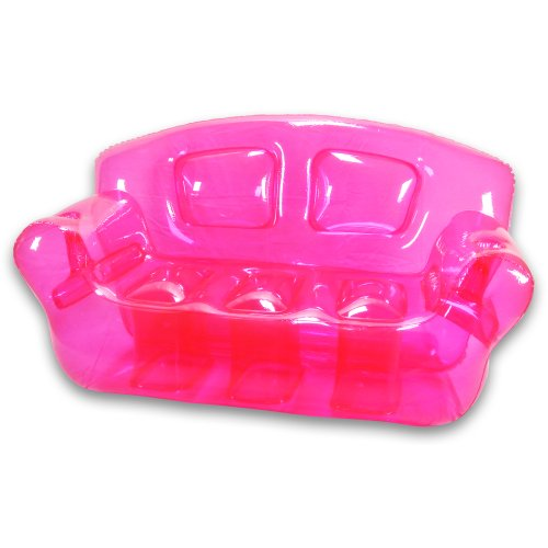Bubble Inflatables Couch, Pretty Pink