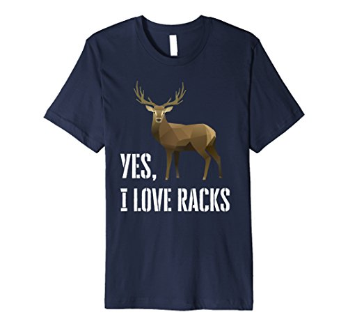 ks Deer Hunting Tshirt Small Navy (Animal Tracks T-shirt)