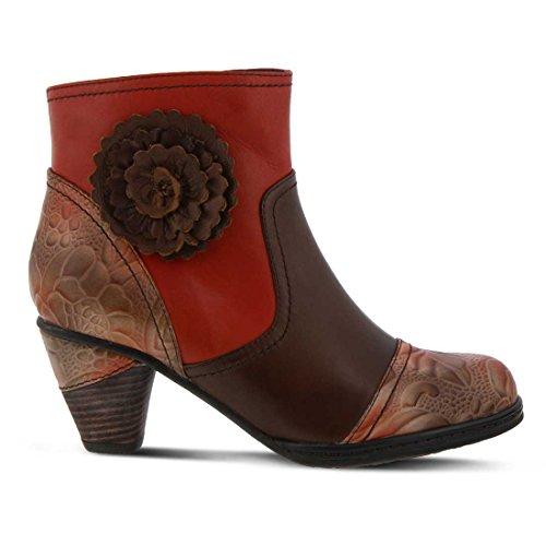 L`artiste Womens Neske Boot Orange Multi