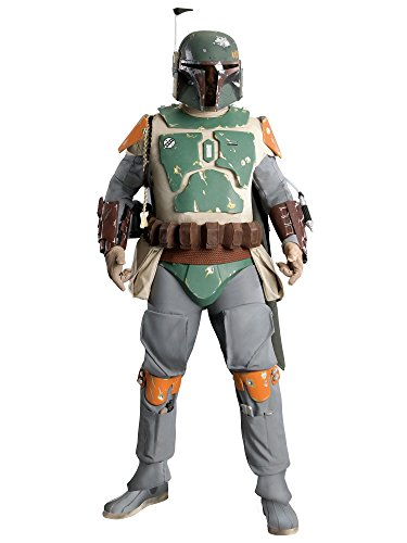 - Collectors Supreme Edition Boba Fett Costume for Adults