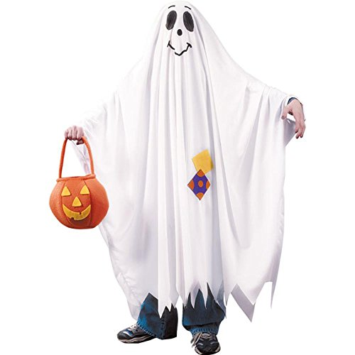 Friendly Ghost Costume - Large (Kids Ghost Costume Ideas)