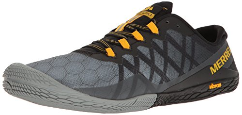Merrell Men's Vapor Glove 3 Trail Runner, Dark Grey, 9.5 M US