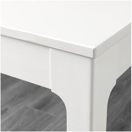 Tavolo 70 X 70 Allungabile Ikea.Unbekannt Ikea Ekedalen Tavolo Allungabile Bianco 80 120 X 70