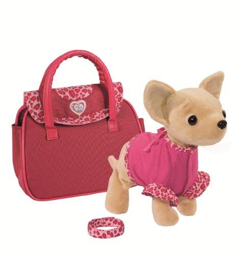 Simba 105897617 - Chi Chi Love Plüschhund Showstar mit Funktion 20cm