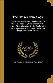 The Barker Genealogy