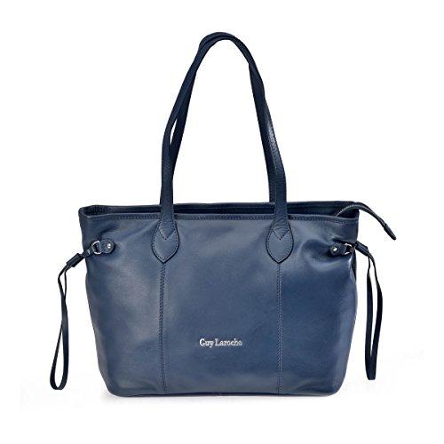 Azul Bolso Shopping Laroche 12051 mujer de Guy Uwzgqz