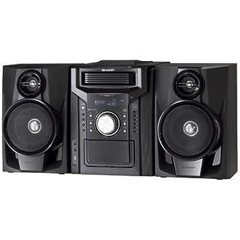 Amazon Com Sharp Cddh950p Mini System Home Audio Amp Theater