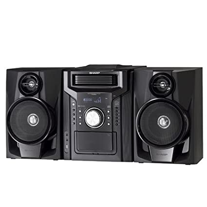 amazon com sharp cddh950p mini system home audio theater rh amazon com Sharp CD Z500 Sharp CD Z500