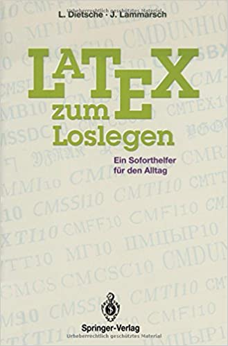 Book Latex zum Loslegen: Ein Soforthelfer für den Alltag
