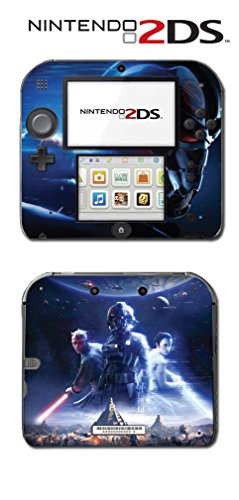 Star Wars Battlefront 2 Rey the Last Jedi Video Game Vinyl Decal Skin Sticker Cover for Nintendo 2DS System Console
