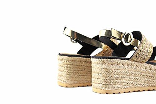 oro oro Espadrillas Donna Basse MODELISA MODELISA Donna Donna Espadrillas oro Espadrillas Basse MODELISA MODELISA Basse RE6wx