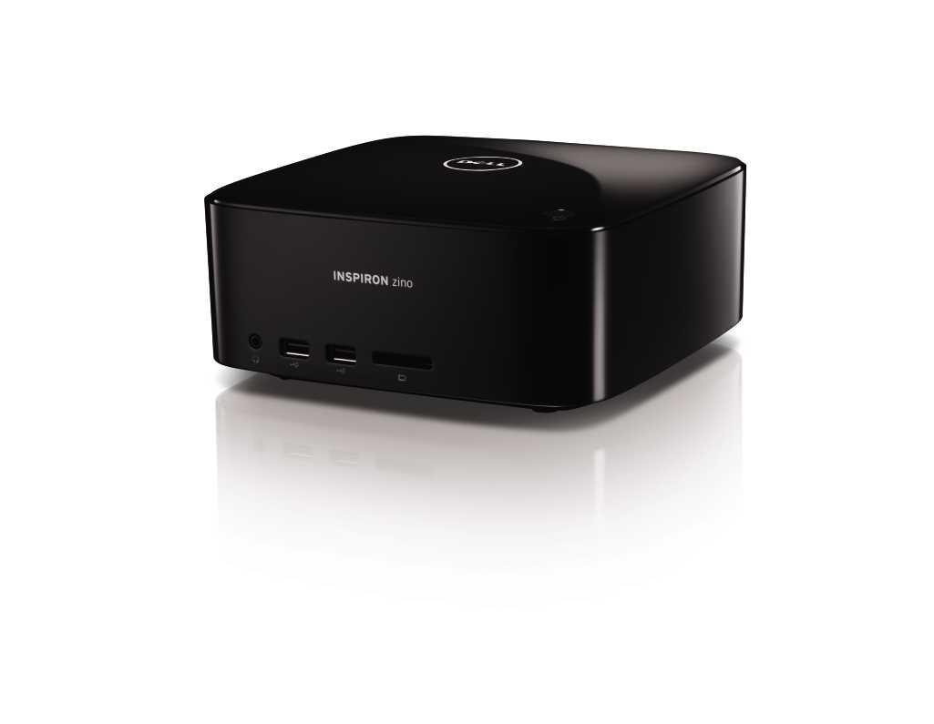 Amazon com: Dell Inspiron Zino HD Piano Black Desktop PC